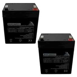 Two 12V 5AH SLA Battery replaces UB1250 PS-1250 UPS / for Ra
