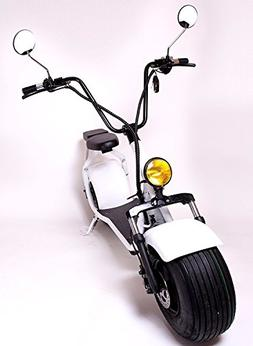 eDrift UH-ES295 2.0 30MPH Electric Fat Tire Scooter Moped wi