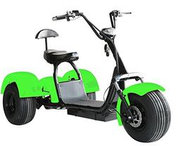 eDrift UH-ES395 Fat Tires 3-Wheel Electric Chopper Trike Sco