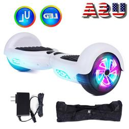 UL2722 Certified Electric Smart Self Balancing Scooter LED L