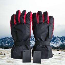 Outdoor Electric Battery Heated Gloves Thermal Motorcycle Bi