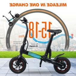 🔥USED S5 FOLDING ELECTRIC SCOOTER 23KM/H 250W URBAN COMMU