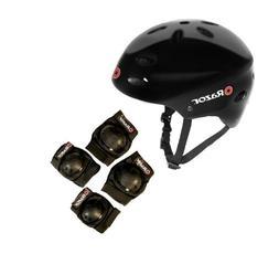 Razor V17 Child Skateboard/Scooter Sport Helmet with Knee &