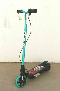 Volt XT Kids Electric Scooter Chain Drive 6mph BLACK RED M T