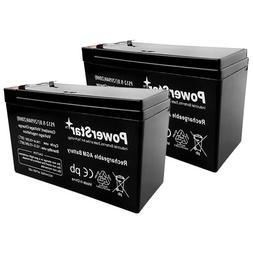 PowerStar-2Pack-2 year Warranty 12V 9AH SLA Battery for Razo