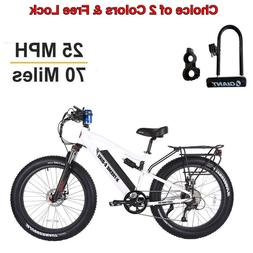 X-Treme Scooters - Rocky Road Fat Tire Electric Bicycle 48V
