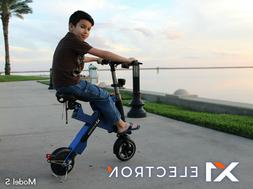 X1 ELECTRON Tesla Mini Foldable Electric Bicycle Scooter Bik