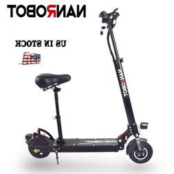 NANROBOT X4 2.0 Electric Scooter Adult 500W with Seat  8'' S