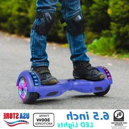 xtremepowerus LED Chrome Hover board Hoverheart Electric Sel