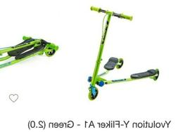 Yvolution Y Fliker Air A1 Push Swing Scooter Winged Speeder