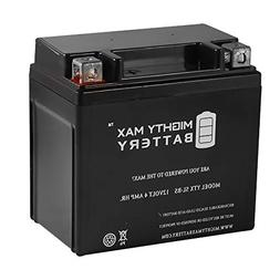 Mighty Max Battery YTX5L-BS Replacement for 50cc 90cc ATV Sc
